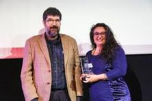 Karina Gibert, investigadora del Departament d'Estadística i Investigació Operativa UPC i professora a la FIB i a l'FME, reconeguda amb els Premis Dona TIC 2018.