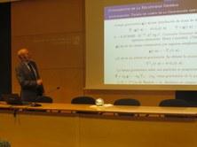 La conferència del professor Narciso Román sobre la Teoria de la Relativitat General ja disponible al Canal YouTube de l'FME
