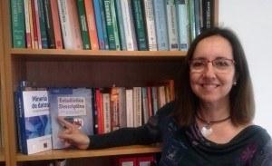 La professora del Grau d'Estadística i del MESIO Manuela Alcañiz, guardonada amb la Distinció a la Qualitat Docent 2015 de la UB