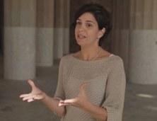 La professora Marta Casanellas al programa DEUWATTS de Betevé