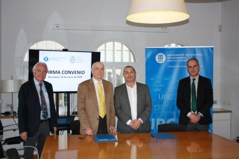 La UPC signa un conveni marc amb la Real Sociedad Matemática Española-RSME
