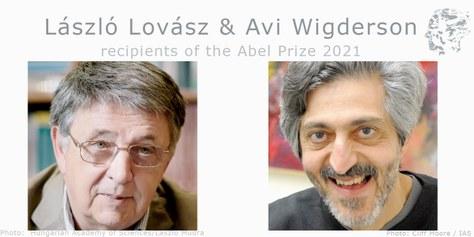 Lázló Lovász and Avi Wigderson guanyen l'Abel Prize 2021