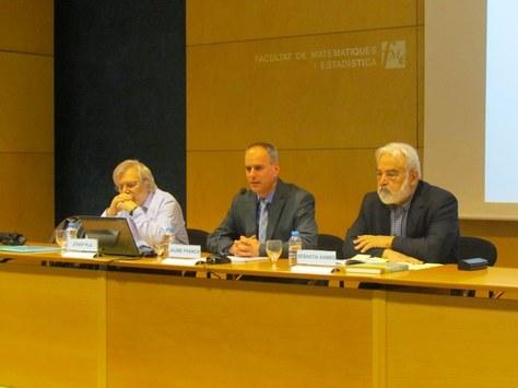 Les conferències de la Jornada Weierstrass de l'FME en suport audiovisual