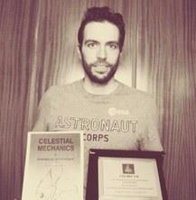 L'estudiant de doctorat FME Oscar Rodríguez del Río guanya el segon premi al millor póster al VII Congrés CELMEC