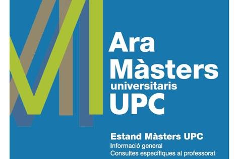 """L'FME present a la campanya """"Ara Màsters UPC"""", amb el MAMME i el MESIO"""