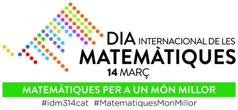 """Març, mes de les Matemàtiques """"per a un món millor"""""""