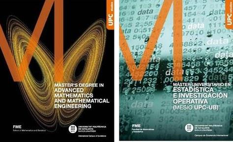 Oberta la preinscripció dels Màsters FME: MAMME i MESIO UPC-UB