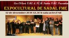 Reserveu-vos dimecres 12 de desembre per l'ExpoCultural Nadal 2018 de l'FME!!