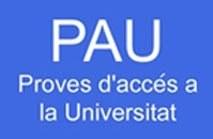Segona convocatòria - Crida a la participació del professorat per a la PAU