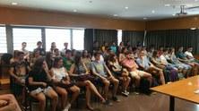 Sessions de benvinguda per als nous estudiants del Grau en Matemàtiques i del Grau en Estadística UB-UPC curs 2017-2018