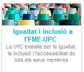 Tallers i propostes formatives sobre Igualtat i Inclusió adreçats a PDI i PAS de la UPC