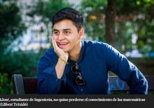 Un estudiant de l'FME-CFIS entrevistat a La Vanguardia del 14 de juny de 2017