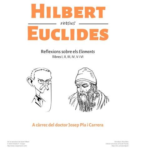 """Xerrada """"Hilbert versus Euclides"""", a càrrec de Josep Pla i Carrera"""
